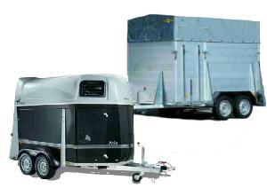 tier transporter tiertransport anh nger pferde anh nger viehanh nger horse trailer in. Black Bedroom Furniture Sets. Home Design Ideas